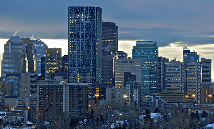 Commercial property on the Calgary real estate market